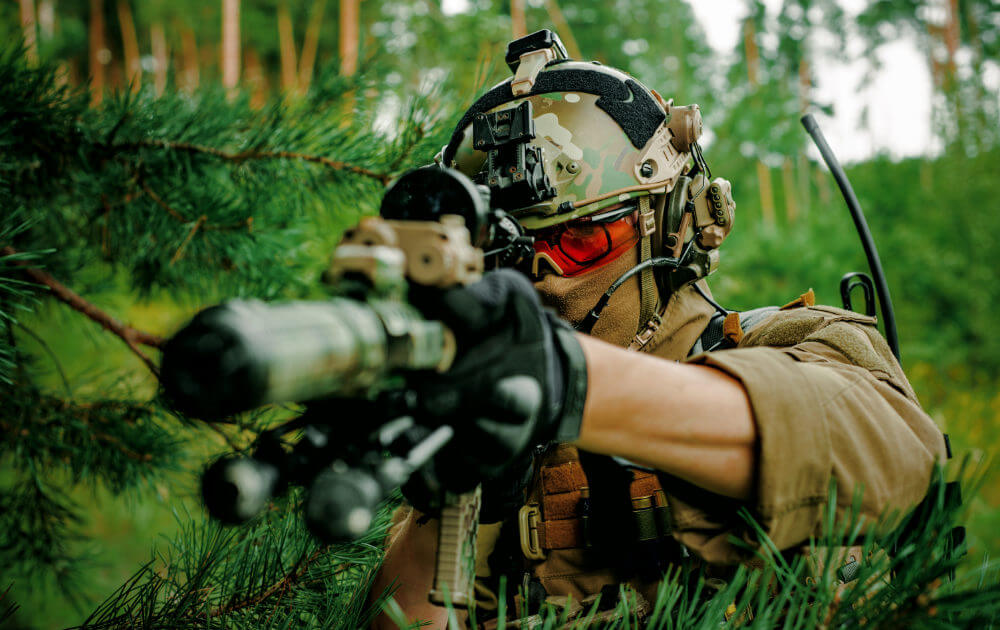Airsoft takes on a lot of different forms, from military simulation to target shooting!